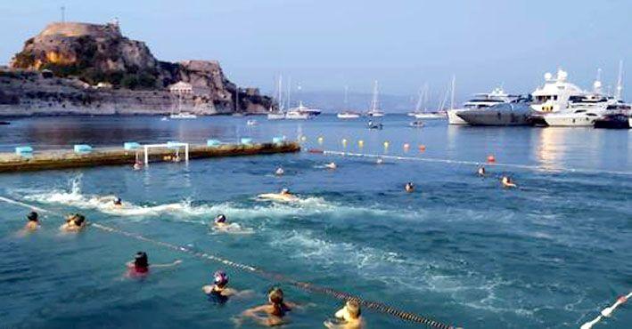 Παιχνίδι, διασκέδαση και χαλάρωση για τα παιδιά ιστορικό κολυμβητήριο του ΝΑΟΚ