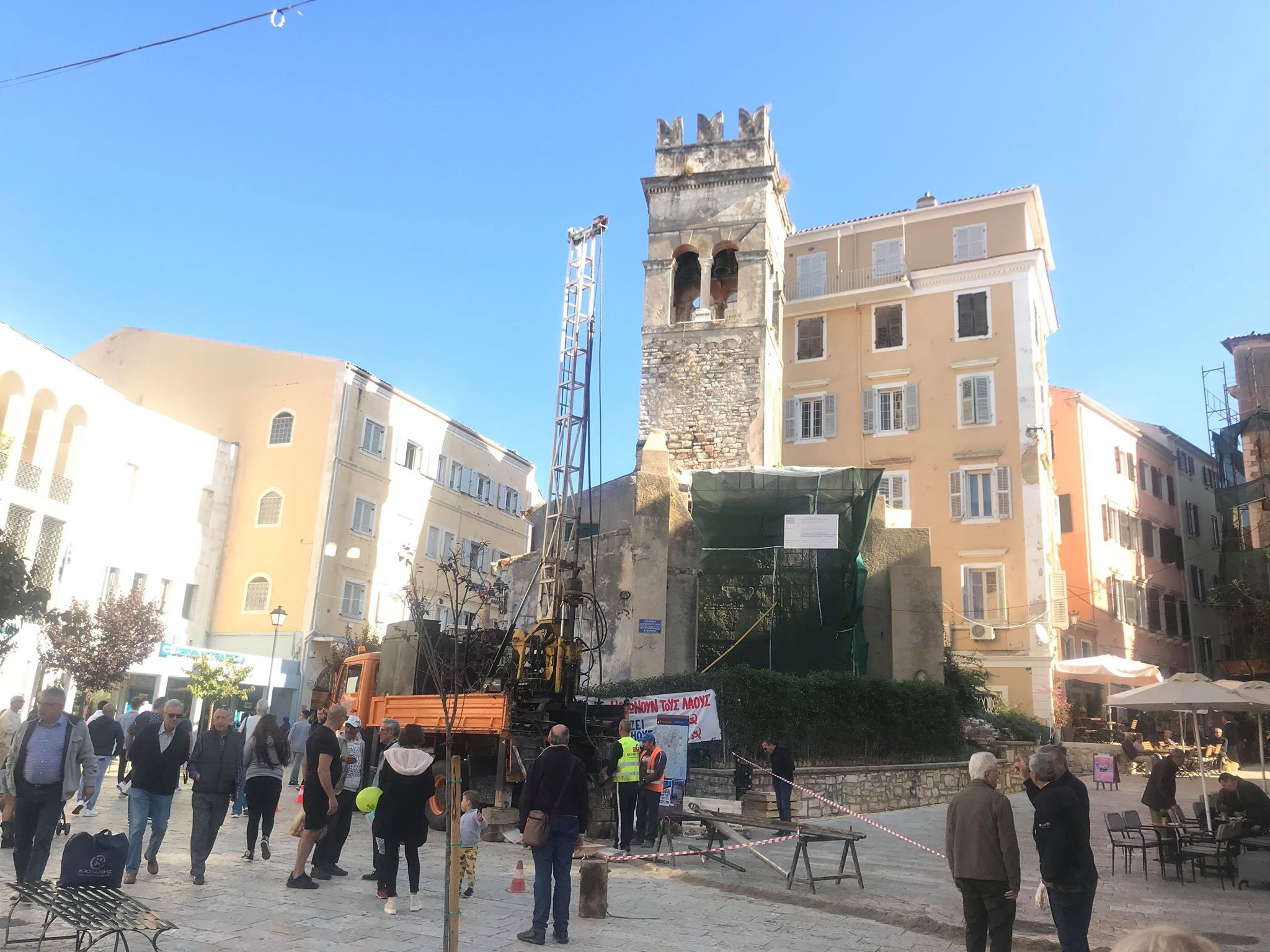 Annunciata and Asani renovations: Drilling work has begun for the geotechnical surveys