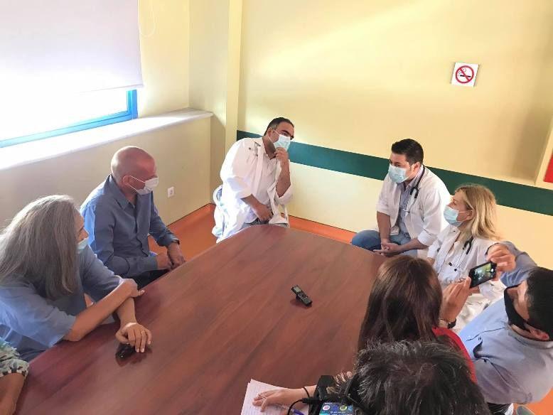 Το Νοσοκομείο της Κέρκυρας επισκέφθηκε ο Γ. Βαρουφάκης (photos)