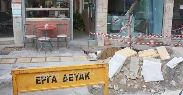 DEYAK carrying out repairs in Garitsa - Anemomylos