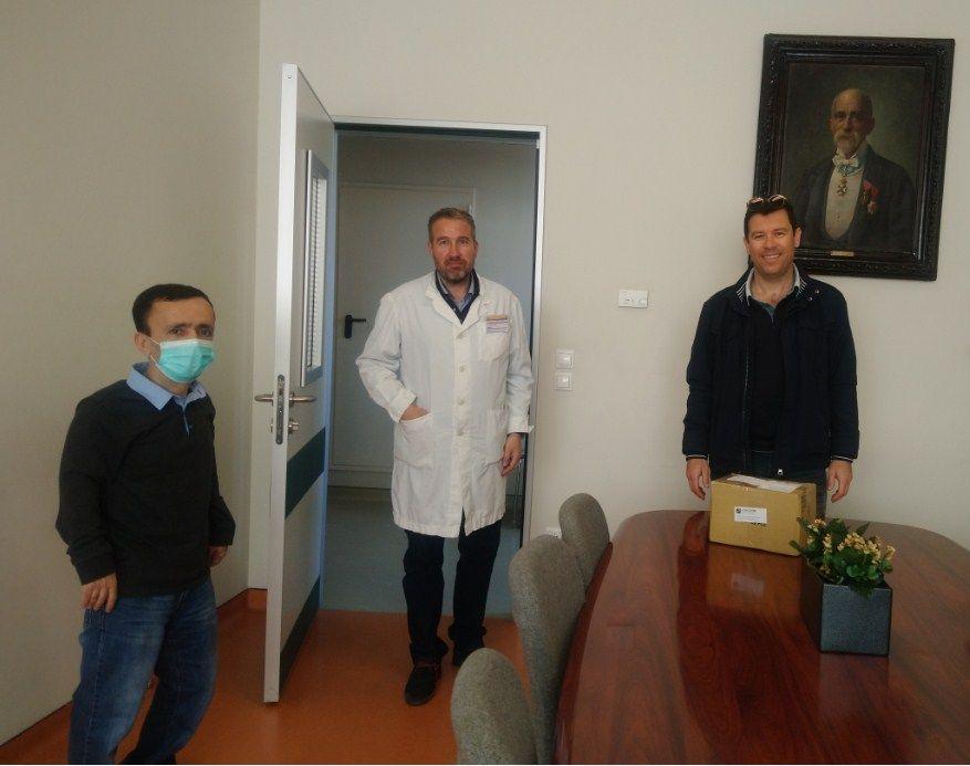 Δωρεά αναλώσιμου ιατρικού υλικού από τo Tμήμα AHEPA Κέρκυρας στο Γενικό Νοσοκομείο