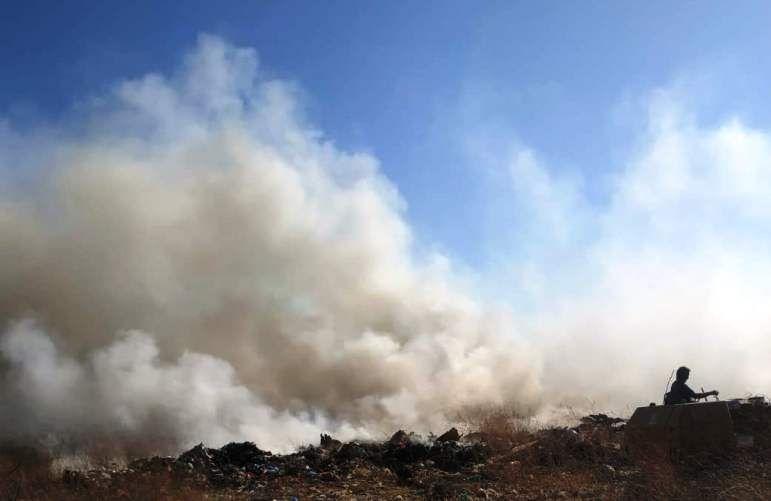 Επισημάνσεις του Παρατηρητηρίου Απορριμμάτων για τις φωτιές στο Τεμπλόνι
