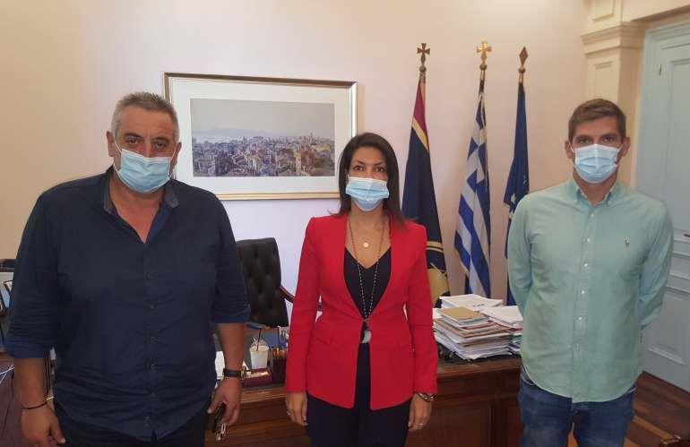 Τη Δήμαρχο Κεντρικής Κέρκυρας επισκέφθηκε ο Σπύρος Γιαννιώτης