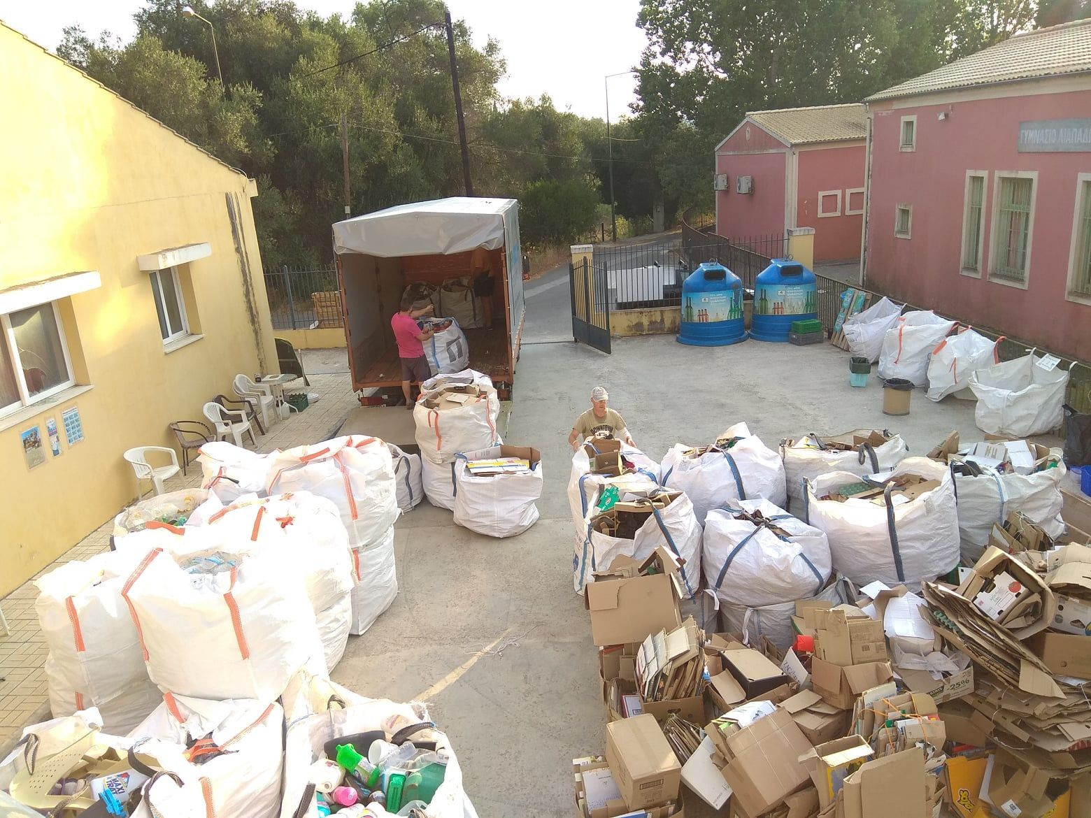 Response from Liapades recycling volunteers to Yiannis Seremetis΄ recent comments