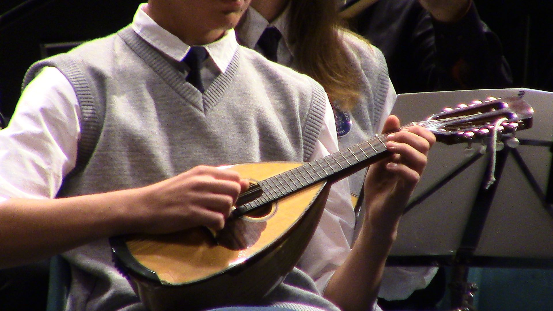 Donation from Union of Corfu Choirs to School of Music