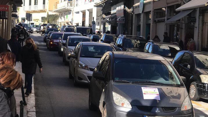 Μηχανοκίνητη πορεία διαμαρτυρίας (photos+video)