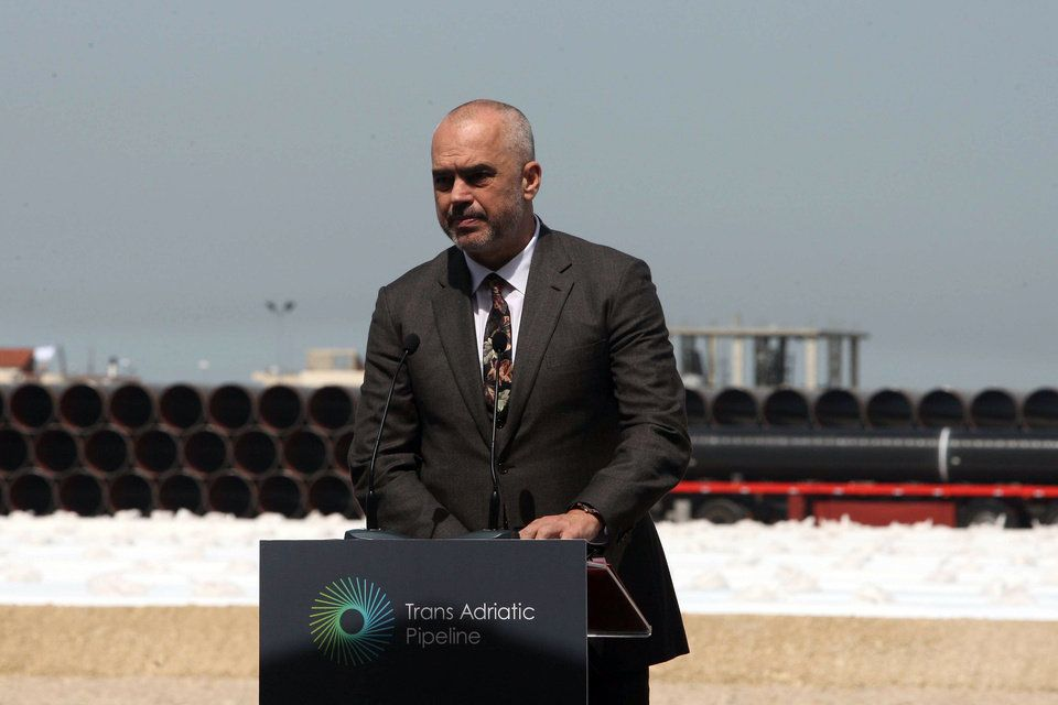 Ξεκίνησε η κατασκευή του αγωγού ΤΑΡ φυσικού αερίου στην Αλβανία