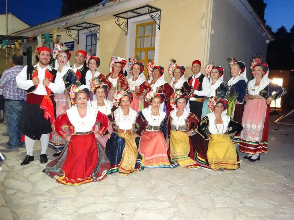 Gouvia Cultural Society dinner and New Year΄s Cake