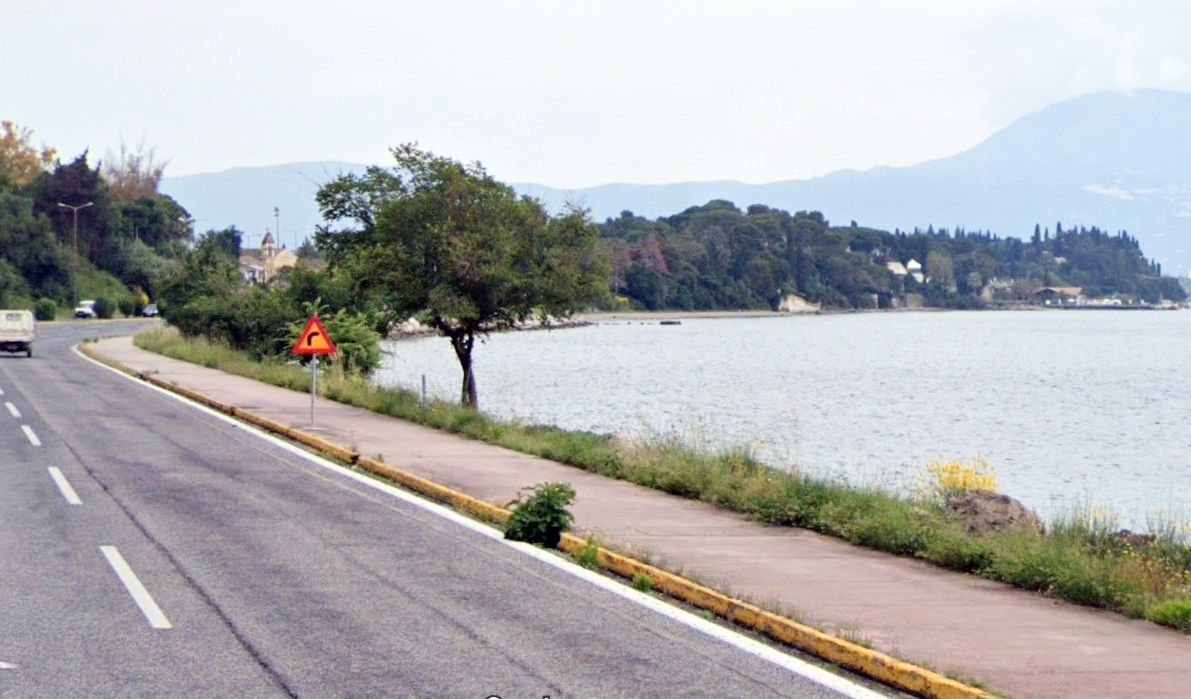 Proposal for safe pedestrian route from Old Town to Gouvia Marina