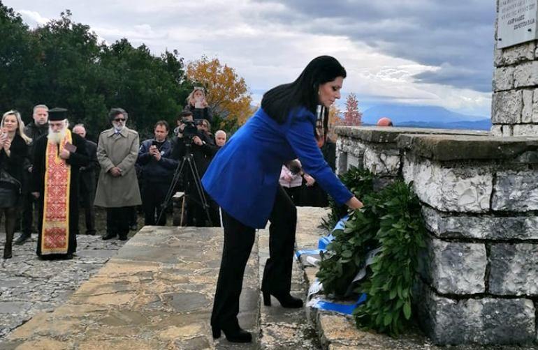 Στις εκδηλώσεις για τον Λορέντζο Μαβίλη στα Ιωάννινα η Τόμπρου