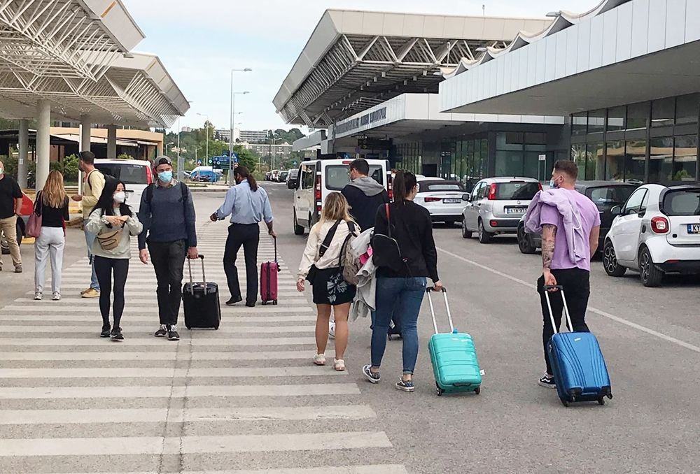 First two flights arrive from UK