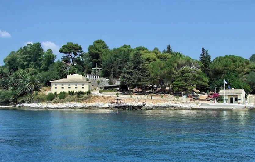 Only the cafe will operate on Vidos Island, not the restaurant
